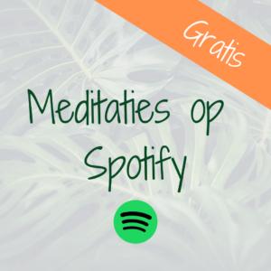 Meditaties Spotify Slow Living mindfulness